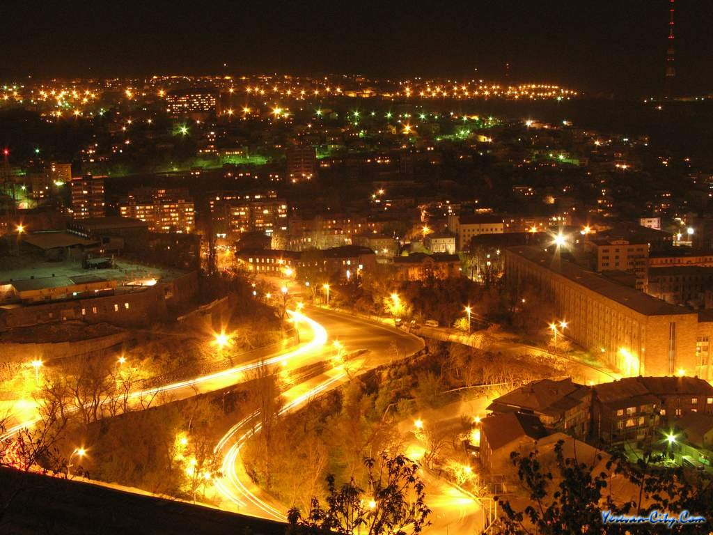 Ночной Ереван